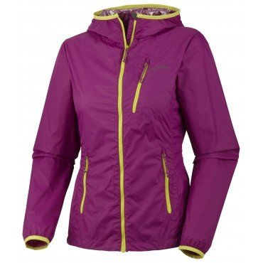 Bunda Columbia Trail Fire Windbreaker