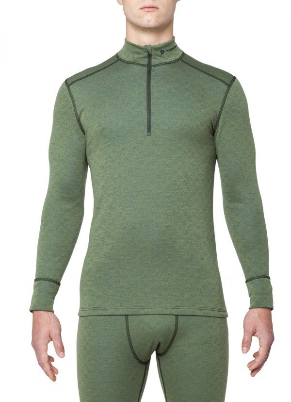 Triko Thermowave Merino  XTREME HIGH NECK ZIP LS