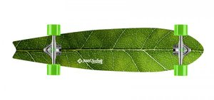 LONGBOARD STREET SURFING FISCHTAIL 42 THE LEAF
