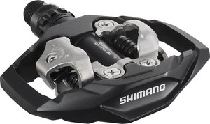 Pedály SHIMANO SPD PD-M530 s kufry SM-SH51